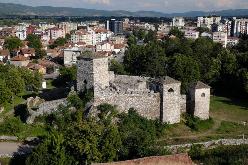 Momcilov毕业堡垒在皮罗特,塞尔维亚 免版税库存照片