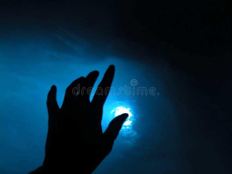Moment bleu photos libres de droits