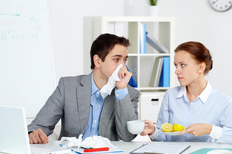 Download Moment of care stock photo. Image of male, businesswoman - 24739702