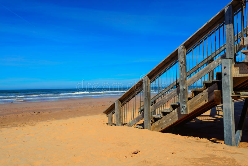 Moment in i sanden fotografering för bildbyråer