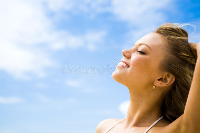 Download Moment of pleasure stock image. Image of close, outdoors - 10494757