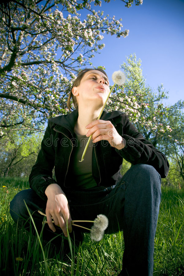 moment, wiosna obrazy royalty free