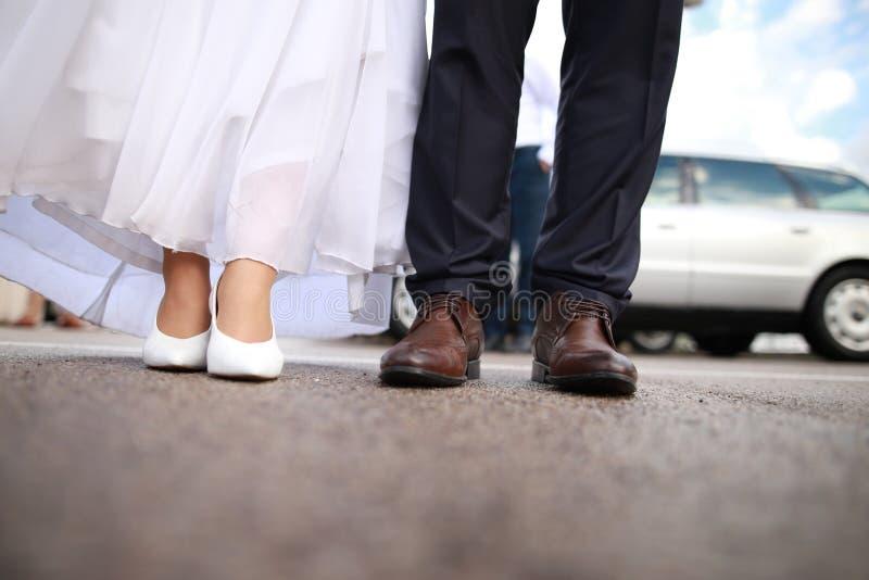 Momenti di nozze fotografia stock libera da diritti