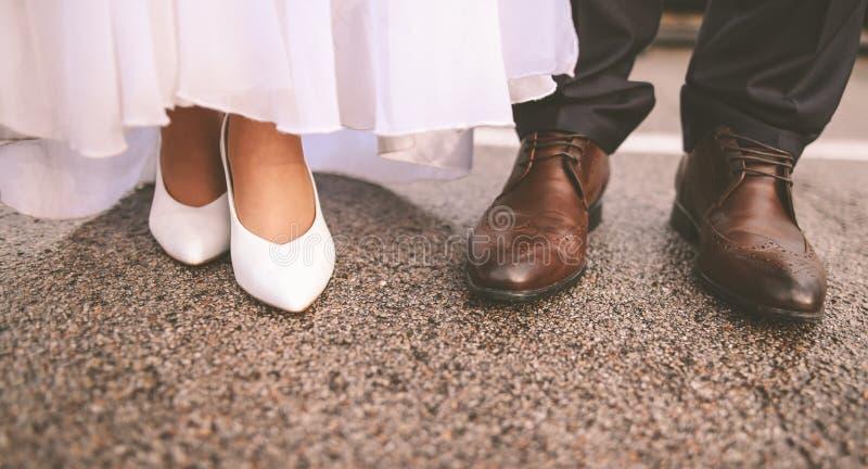 Momenti di nozze fotografia stock