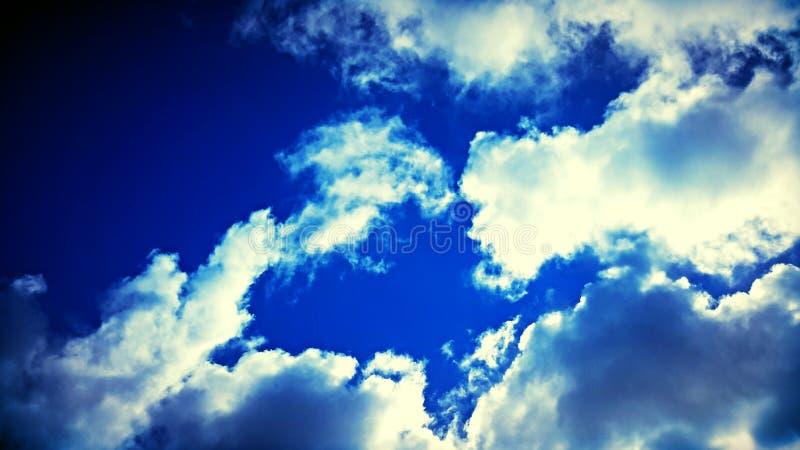 Momento en el cielo foto de archivo