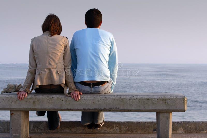 Momento romantico immagini stock libere da diritti