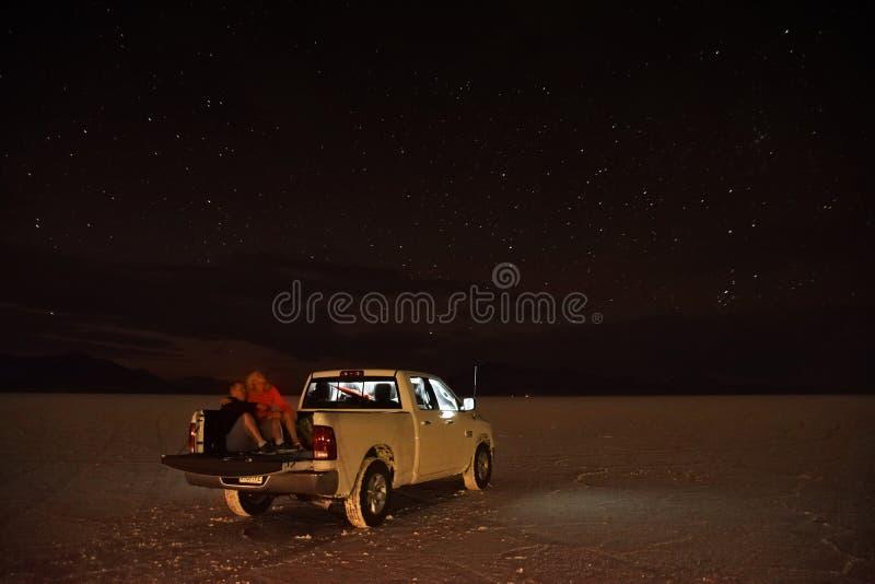 Momento tranquilo de la noche con las estrellas foto de archivo libre de regalías
