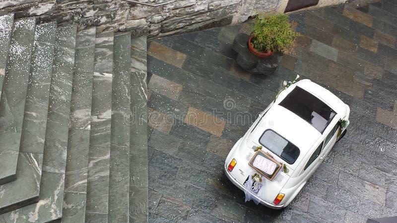 Momento weding Itália de Spettacular foto de stock royalty free