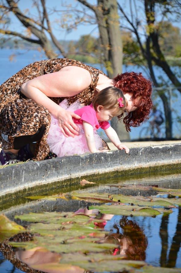 Moments De Maman Photos libres de droits