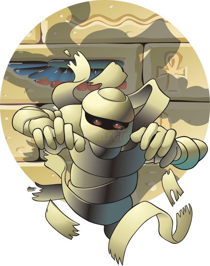 Momia stock de ilustración
