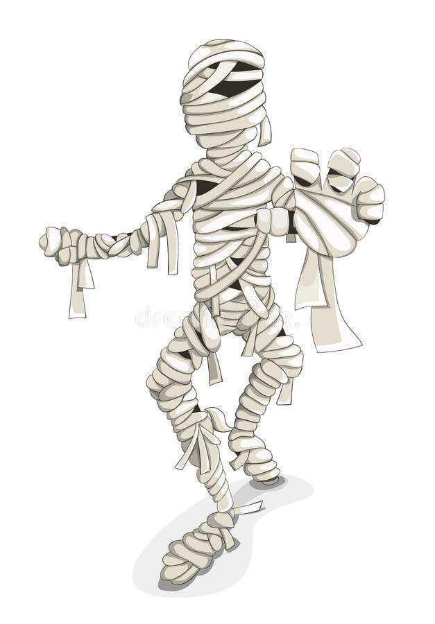 momia ilustración del vector