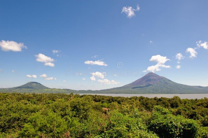 momotombo Nicaragua wulkan obrazy royalty free