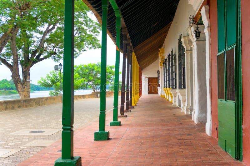 Download Mompox, Architecture De La Colombie Image stock - Image du américain, bleu: 77151153