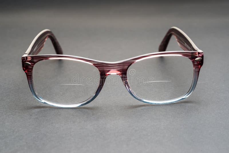 Monóculos com lentes bifocais imagens de stock