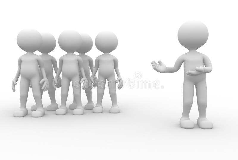 Mon équipe illustration de vecteur