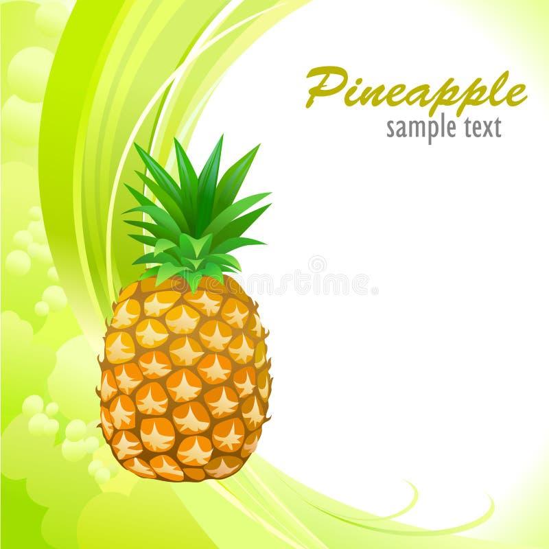 Mon ananas doux illustration libre de droits