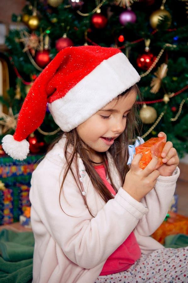 Mon cadeau de Noël photographie stock