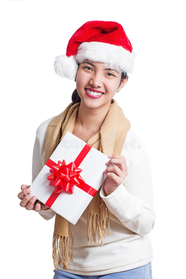 Mon cadeau de Noël image libre de droits