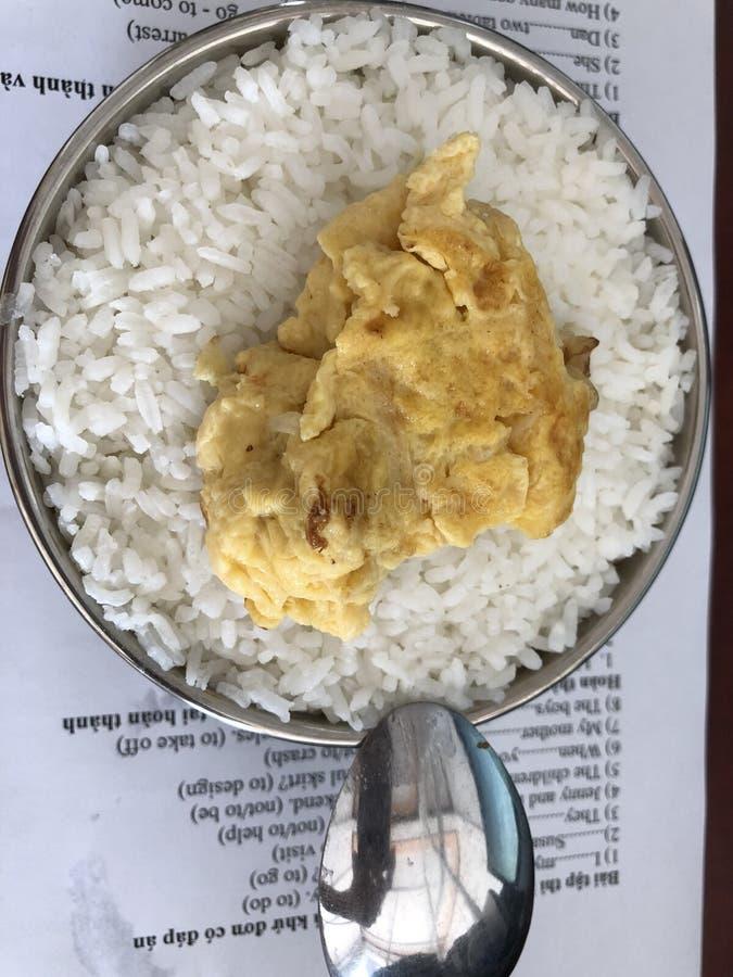 Mon déjeuner de maison ! photographie stock