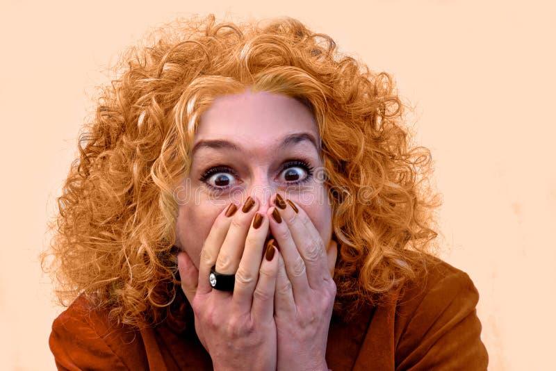 Mon dieu, je suis orange photographie stock libre de droits