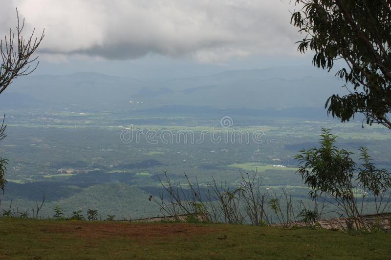 Mon jam. Landscape at Mon Jam in Chiangmai Thailand royalty free stock photography