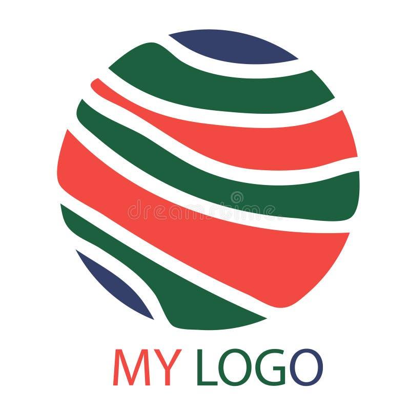 Mon logo futé illustration de vecteur