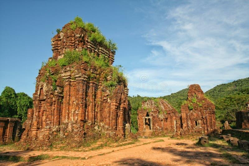 Mon temple de fils - Vietnam photographie stock