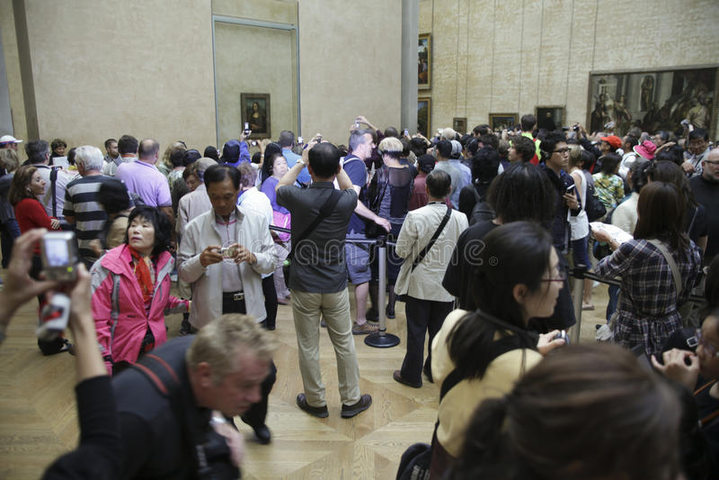 Mona Lisa royalty-vrije stock afbeelding