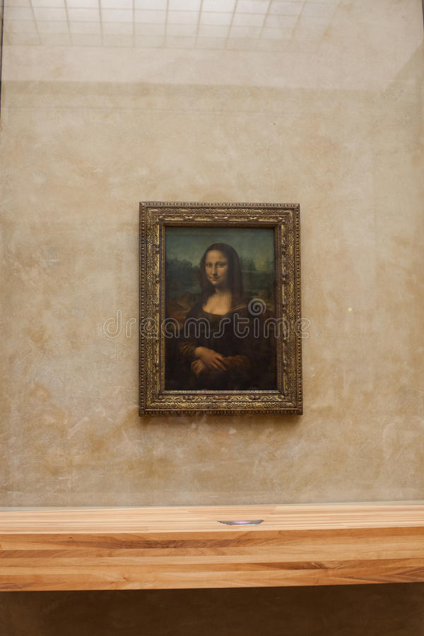 Mona Lisa stockbild