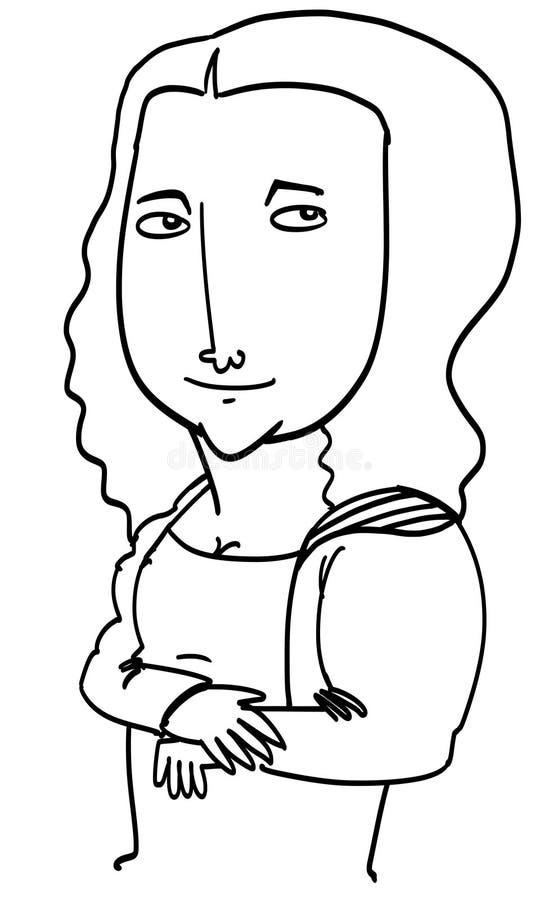 Mona Lisa ilustracji