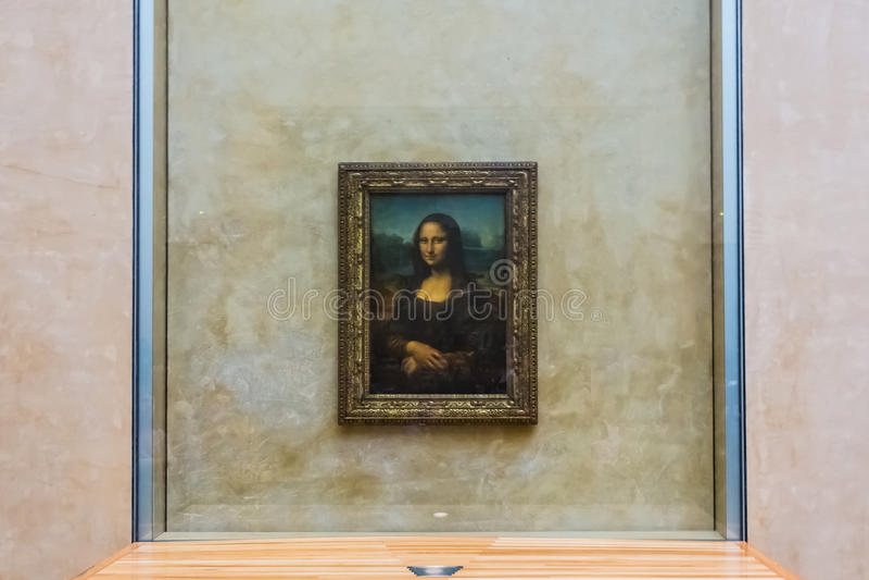 Mona lisa obraz royalty free