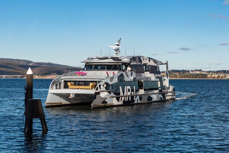 MONA ROMA Hobart, Tasmania przewożę obrazy stock