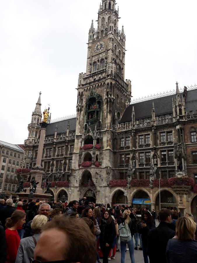 Monachium urz?d miasta obraz stock