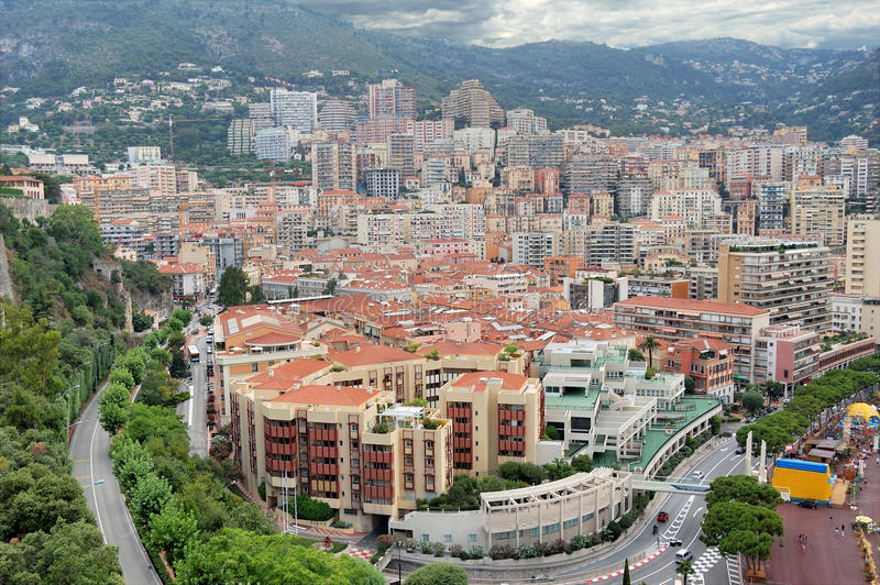 Download Monaco. stock image. Image of road, city, panorama, apartment - 21377423