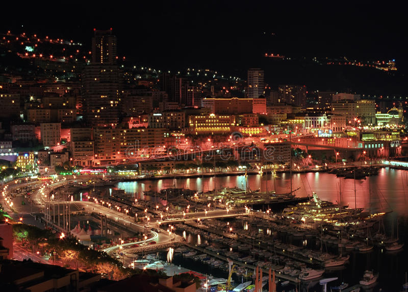Download Monaco stock photo. Image of mediterranean, famous, port - 23387334