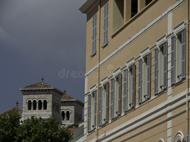 Download Monaco photo stock. Image du côte, port, fleurs, monaco - 56481846