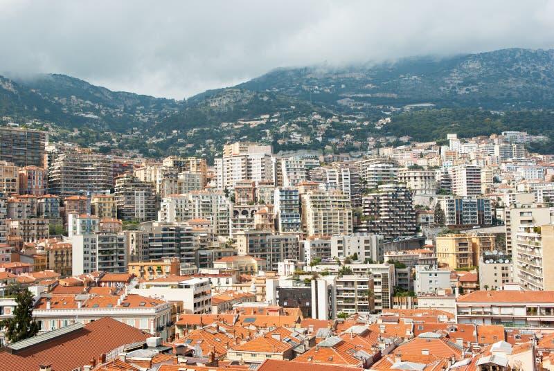 Monaco Cityscape Stock Photography