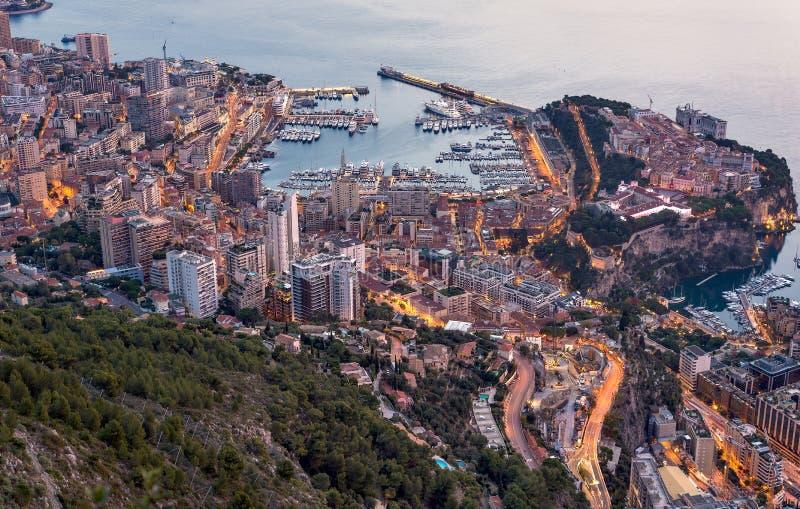 Monaco cityscape stock images
