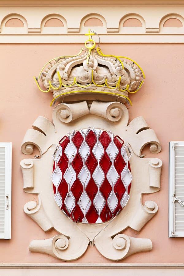 Monaco crest royalty free stock photography