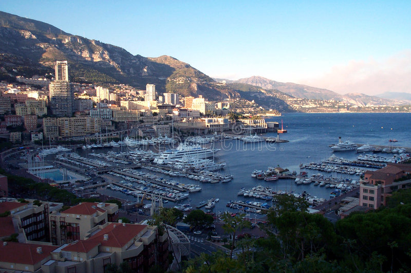 Download Monaco Docks From Above Stock Photo - Image: 70