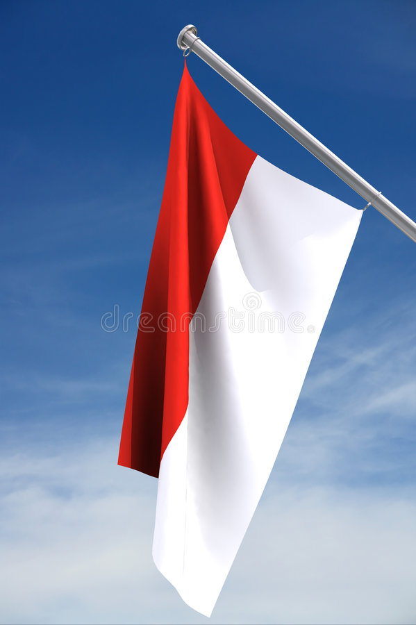 Download Monaco Flag Stock Photography - Image: 4950422