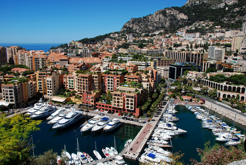 Download Monaco Fontvieille Royalty Free Stock Photography - Image: 8540937