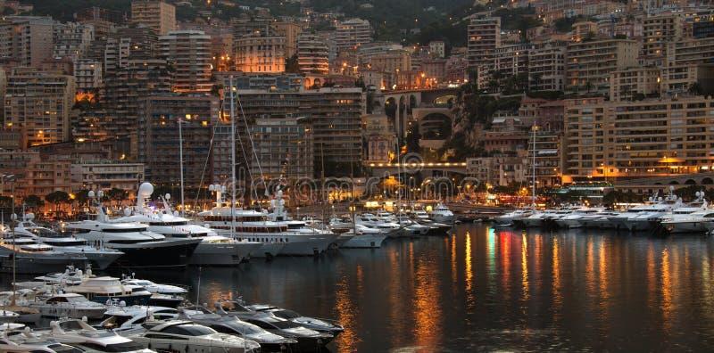 Monaco - franska Riviera royaltyfria foton