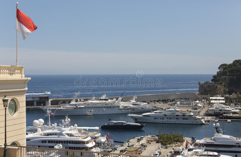 Monaco - franska Riviera arkivbilder