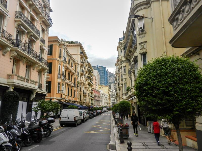 Monaco gata royaltyfri fotografi