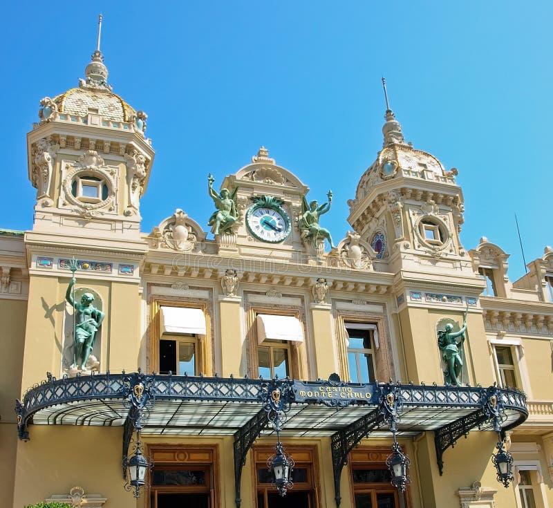 Monaco Grand Casino. Front of the Grand Casino in Monte Carlo, Monaco royalty free stock photos