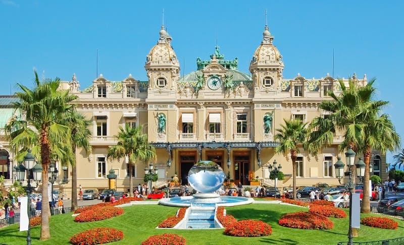 Monaco-großartiges Kasino lizenzfreie stockfotografie