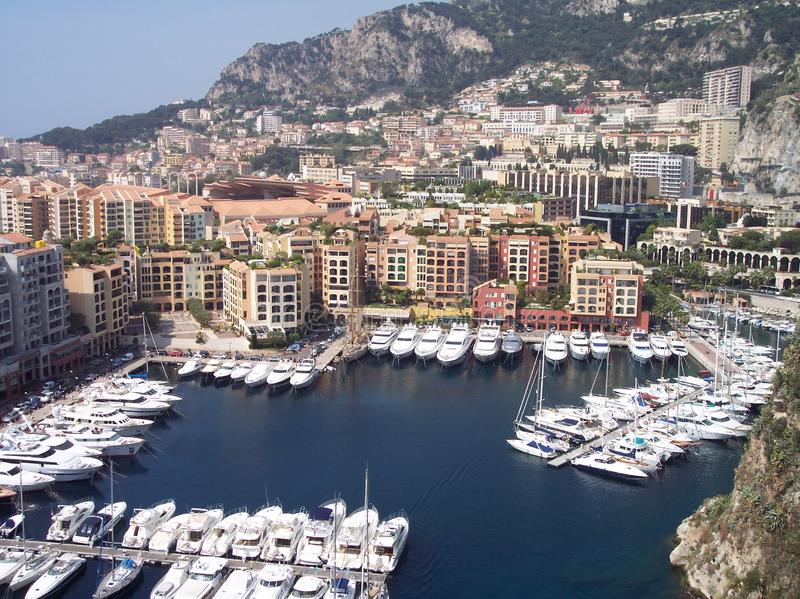 Monaco-Hafen stockbilder