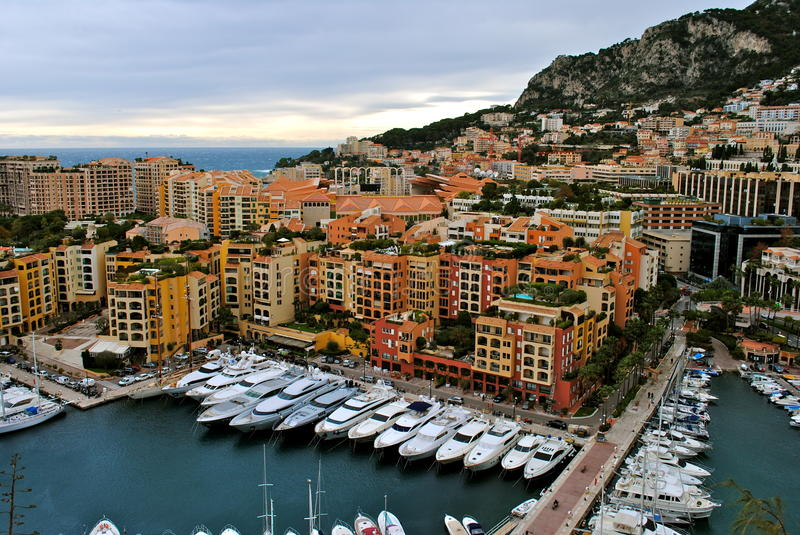 Download Monaco Harbor stock image. Image of boats, france, architecture - 26055079