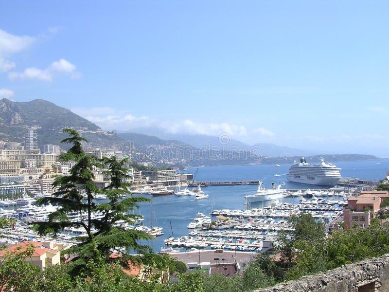 Download Monaco Harbour. Stock Images - Image: 191474